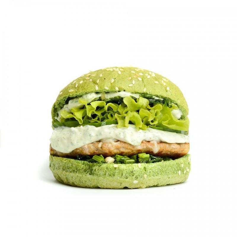 корисний бургер